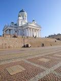 Helsinki-Kathedrale Stockbild