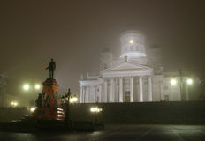 Helsinki-Kathedrale Lizenzfreie Stockfotos