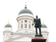 Helsinki-Kathedrale stockfotos