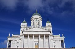 Helsinki-Kathedrale Lizenzfreies Stockbild
