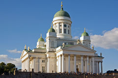 Helsinki-Kathedrale Stockfotografie