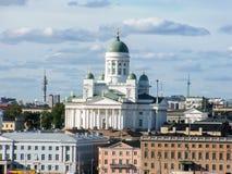 Helsinki-Kathedrale in Finnland Lizenzfreie Stockfotografie
