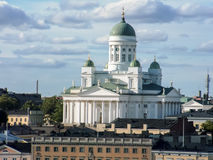 Helsinki-Kathedrale in Finnland Lizenzfreies Stockbild