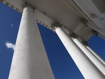 Helsinki-Kathedrale-Spalten Lizenzfreies Stockbild