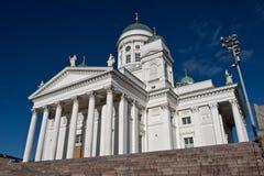 Helsinki-Kathedraledetails Stockfotografie