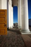 Helsinki-Kathedralendetail Lizenzfreie Stockfotografie