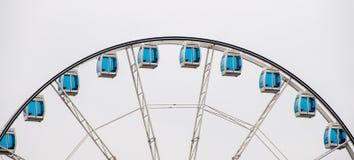 Helsinki: la rueda panorámica gigante fotografía de archivo libre de regalías