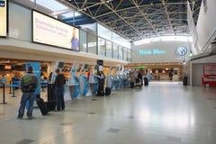 Helsinki lotniska wnętrze Fotografia Royalty Free