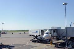 Helsinki lotnisko międzynarodowe Obrazy Stock