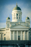 Helsinki Lutheran Cathedral Stock Photography