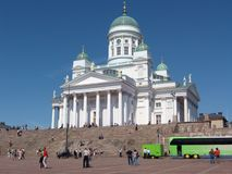Helsinki Lutheran Cathedral royalty free stock images