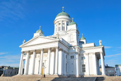 Helsinki. Lutheran Cathedral Royalty Free Stock Images