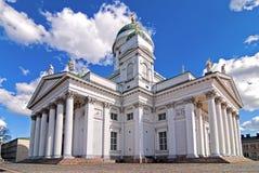 Helsinki the Lutheran Church. Royalty Free Stock Photography
