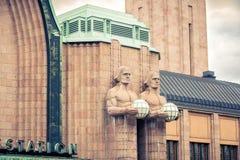 Helsinki main railway station Stock Photography