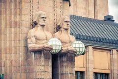 Helsinki main railway station Stock Photos