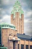 Helsinki main railway station Stock Images