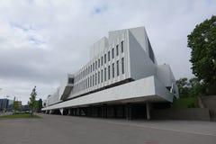 HELSINKI - 28 MAJ: Finlandia Hall w Helsinki, Finlandia na 28 2016 Maju Fotografia Stock