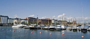 Helsinki marina Royalty Free Stock Image