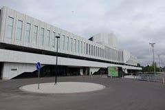 HELSINKI - 28 MAY: Finlandia Hall in Helsinki, Finland on 28 May 2016 Stock Image