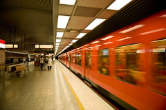 Helsinki metro Royalty Free Stock Photography