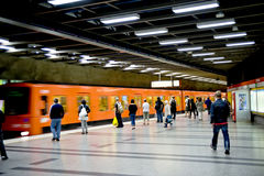 Helsinki metro Royalty Free Stock Image