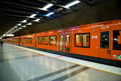 Helsinki metro Royalty Free Stock Images
