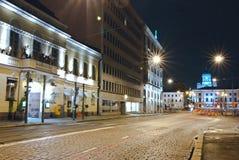 Helsinki night. Stock Image