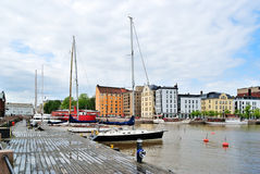 Helsinki. North Harbour Stock Photo