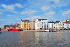 Helsinki, North Harbour Royalty Free Stock Images