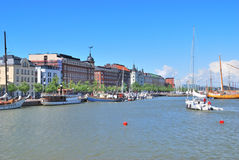 Helsinki. North Harbour Stock Image