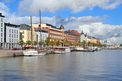 Helsinki North Quay Royalty Free Stock Image