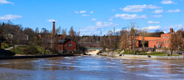Helsinki old hydro electric power station Stock Image