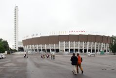 Helsinki Olympic Stadium Royalty Free Stock Images