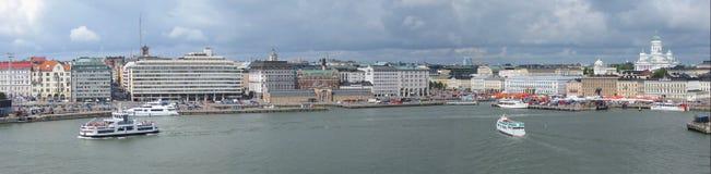 Helsinki panorama stock photos