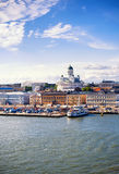 Helsinki port Royalty Free Stock Photo