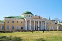 Helsinki. President Palace Royalty-vrije Stock Foto