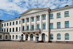 Helsinki. President Palace Stock Photography