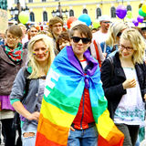 Helsinki Pride gay parade Royalty Free Stock Photography