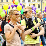 Helsinki Pride gay parade Royalty Free Stock Photos