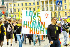 Helsinki Pride gay parade Stock Photography