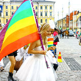 Helsinki Pride gay parade Stock Images