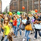 Helsinki Pride gay parade Stock Photography