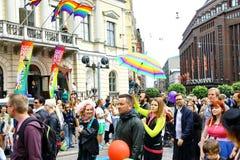 Helsinki Pride gay parade Stock Photos