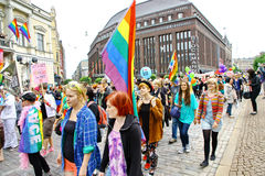 Helsinki Pride gay parade Stock Photo