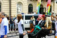 Helsinki Pride gay parade Stock Image