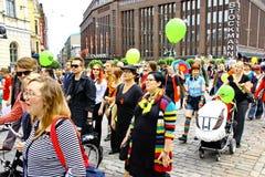 Helsinki Pride gay parade Stock Image