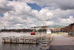 Helsinki Promenade Royalty Free Stock Photos