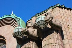 Helsinki Railway Station Royalty Free Stock Images