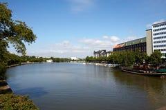 Helsinki river view Stock Photo
