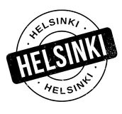 Helsinki rubber stamp. Grunge design with dust scratches. Effects can be easily removed for a clean, crisp look. Color is easily changed Royalty Free Stock Photos